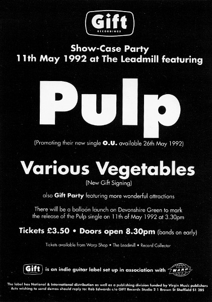 Pulp Countdown 1992 - 1983