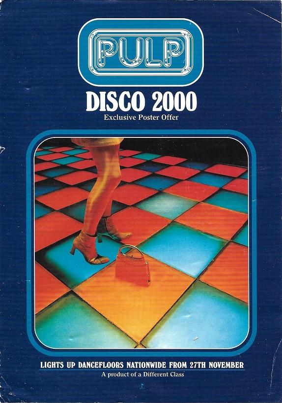 """La Chica del Viernes""...quiere bailar Disco-2000-poster-offer-front"